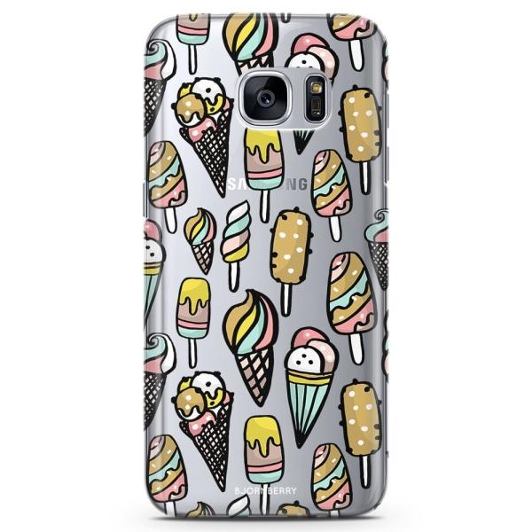 Bjornberry Samsung Galaxy S6 TPU Skal - Glass