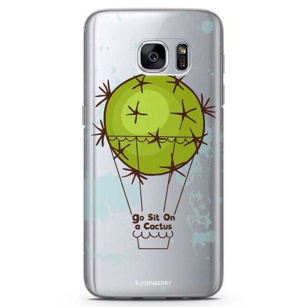Bjornberry Samsung Galaxy S6 TPU Skal - Go Sit On A Cactus