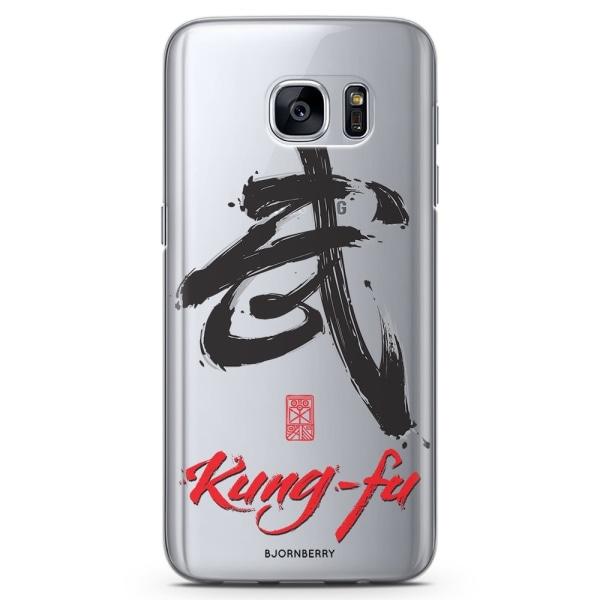Bjornberry Samsung Galaxy S6 TPU Skal - Kung-fu tecken