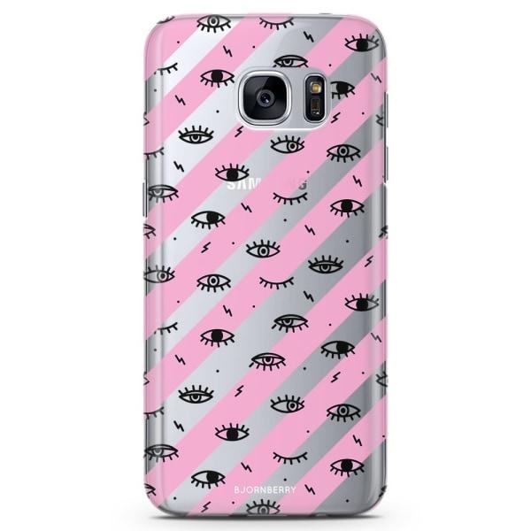 Bjornberry Samsung Galaxy S6 TPU Skal - Ögon