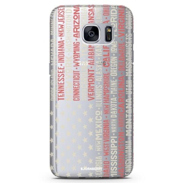 Bjornberry Samsung Galaxy S6 TPU Skal - USA
