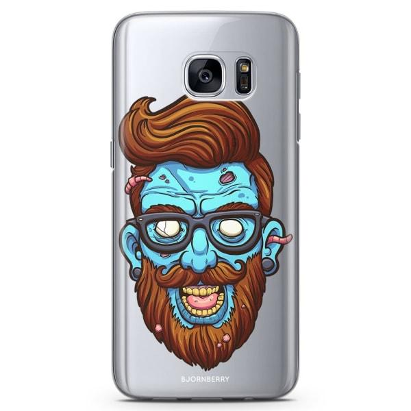 Bjornberry Samsung Galaxy S6 TPU Skal - Zombie Hipster