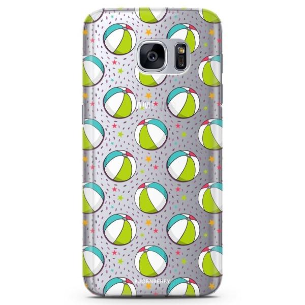 Bjornberry Samsung Galaxy S7 Edge TPU Skal -Badbollar