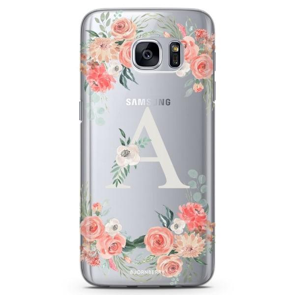 Bjornberry Samsung Galaxy S7 Edge TPU Skal -Monogram A