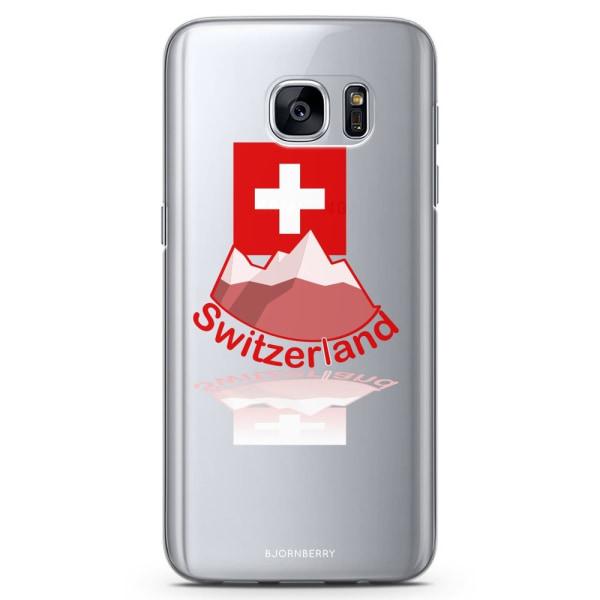 Bjornberry Samsung Galaxy S7 Edge TPU Skal -Schweiz