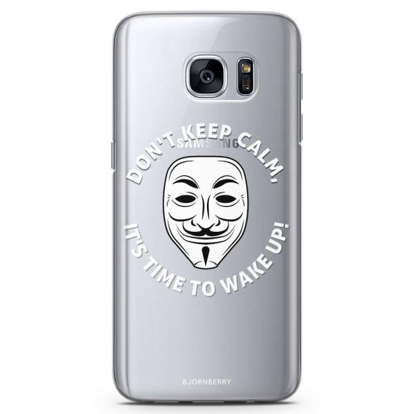Bjornberry Samsung Galaxy S7 Edge TPU Skal -Time To Wake Up