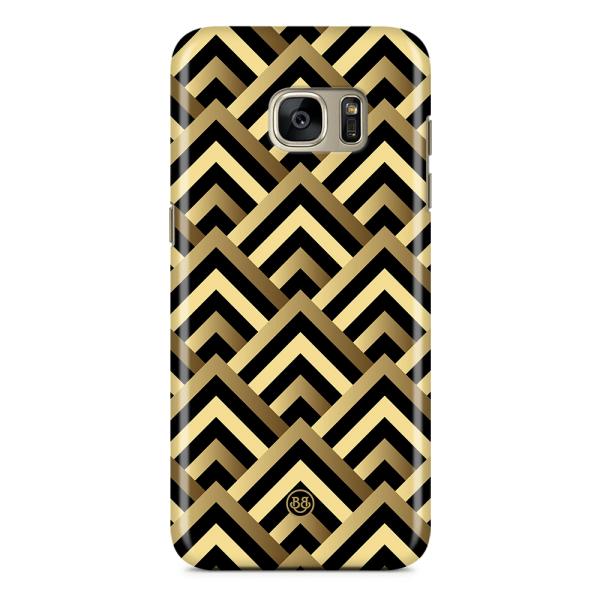 Bjornberry Samsung Galaxy S7 Premium Skal - Art Deco