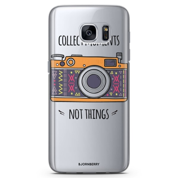 Bjornberry Samsung Galaxy S7 TPU Skal - Collect Moments