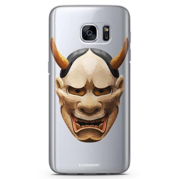 Bjornberry Samsung Galaxy S7 TPU Skal - Hannya Mask