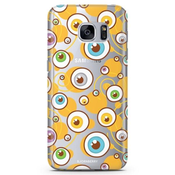 Bjornberry Samsung Galaxy S7 TPU Skal - Ögon Mönster
