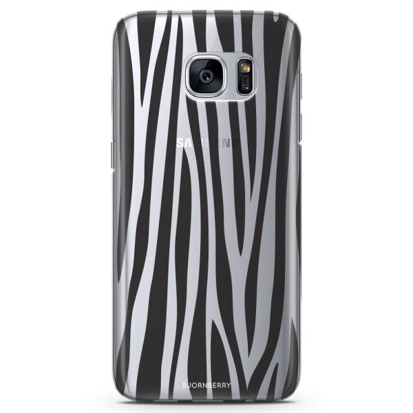 Bjornberry Samsung Galaxy S7 TPU Skal - Zebra