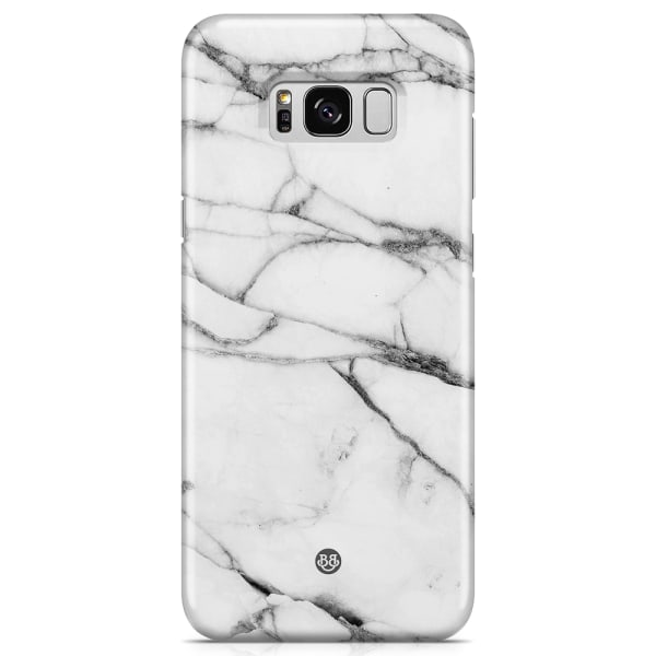 Bjornberry Samsung Galaxy S8+ LYX Skal - White Marble