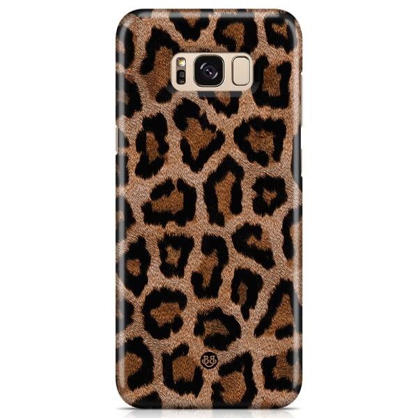 Bjornberry Samsung Galaxy S8 Premium Skal - Leopard