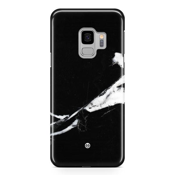 Bjornberry Samsung Galaxy S9 Premium Skal - Minimalistisk Marmor