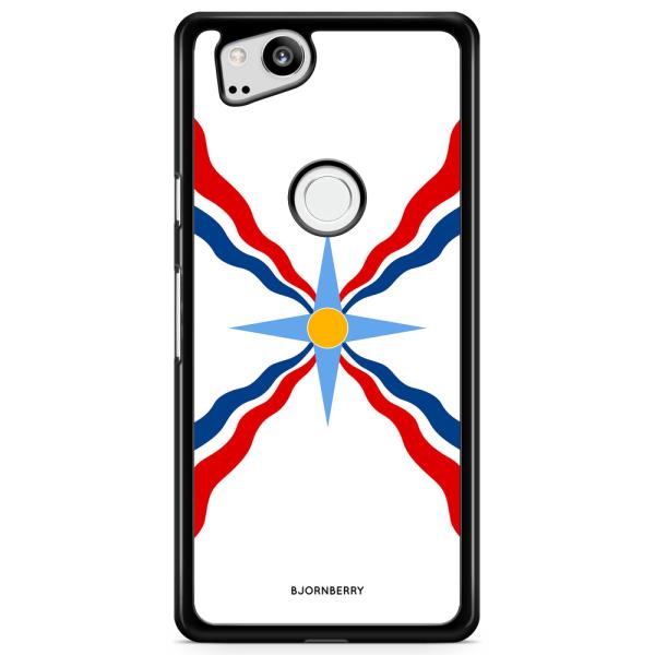 Bjornberry Skal Google Pixel 2 - Assyriska flaggan