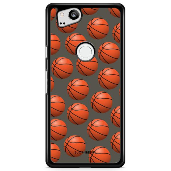 Bjornberry Skal Google Pixel 2 - Basketbolls Mönster