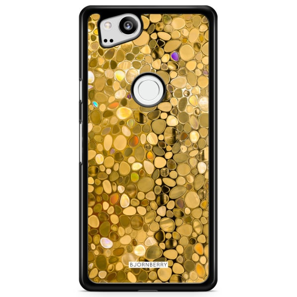 Bjornberry Skal Google Pixel 2 - Stained Glass Guld