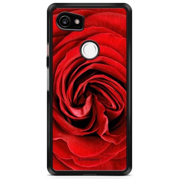 Bjornberry Skal Google Pixel 2 XL - Röd Ros