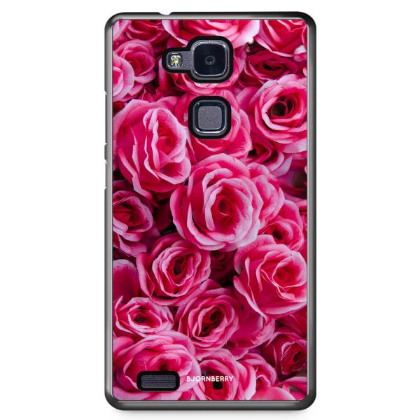Bjornberry Skal Huawei Honor 5X - Röda Rosor