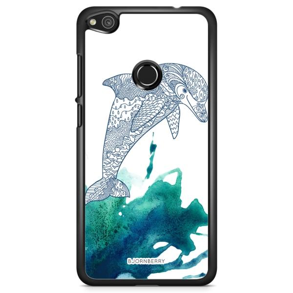 Bjornberry Skal Huawei Honor 8 Lite - Mandala Delfin