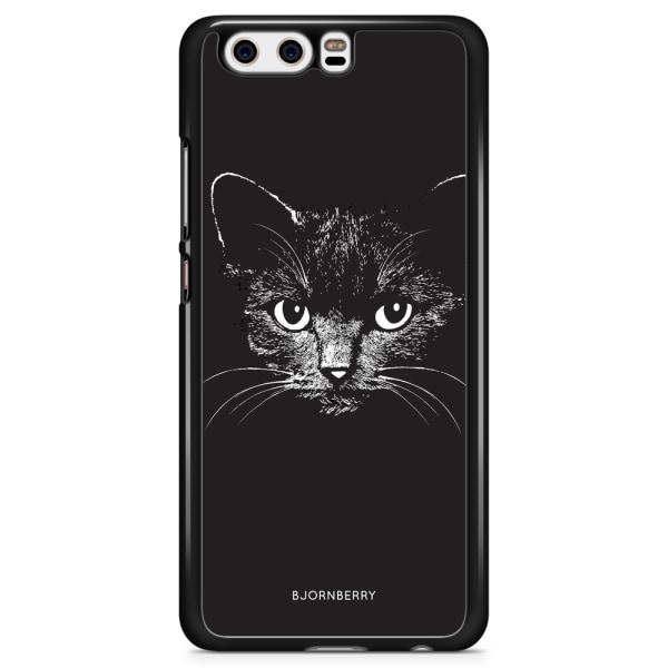 Bjornberry Skal Huawei Honor 9 - Svart/Vit Katt