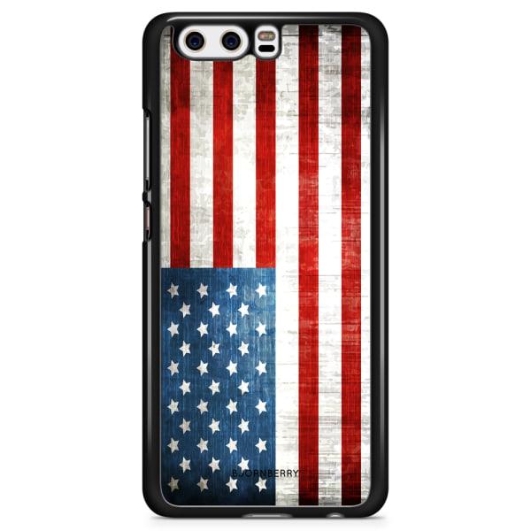 Bjornberry Skal Huawei Honor 9 - USA Flagga