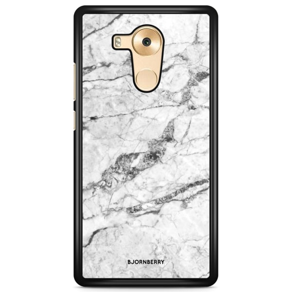 Bjornberry Skal Huawei Mate 8 - Vit Marmor