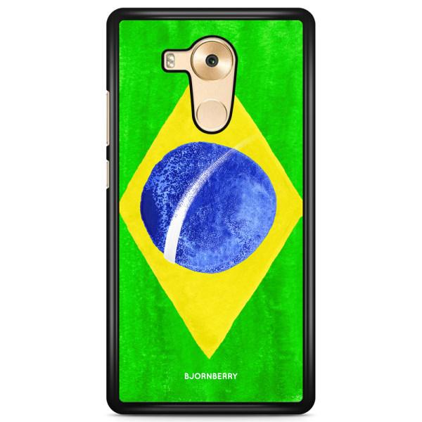 Bjornberry Skal Huawei Mate 9 Pro - Brasiliens Flagga