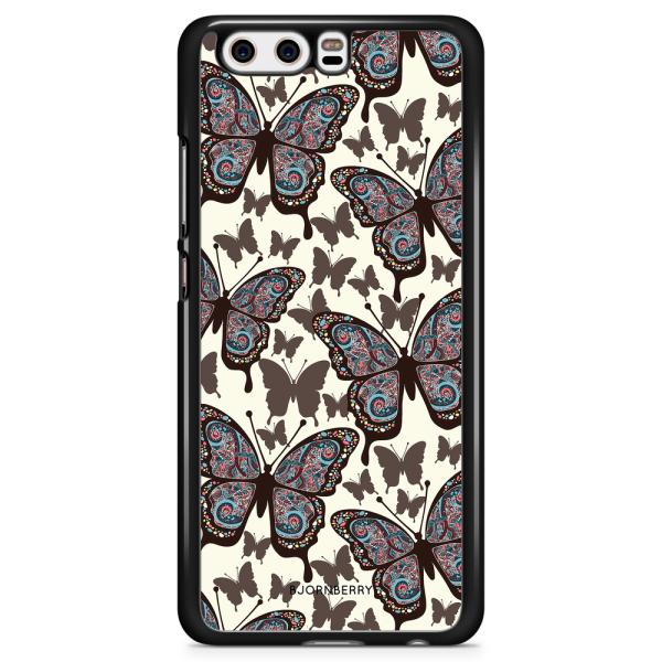 Bjornberry Skal Huawei P10 - Färgglada Fjärilar