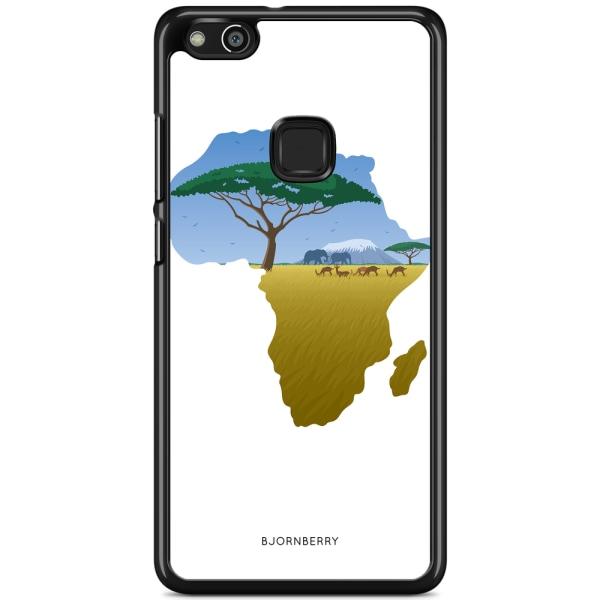 Bjornberry Skal Huawei P10 Lite - Afrika Vit