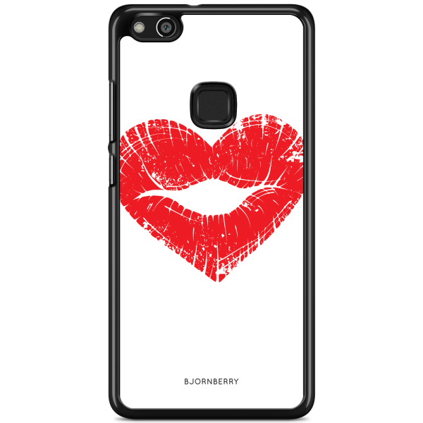 Bjornberry Skal Huawei P10 Lite - Hjärta Läppar