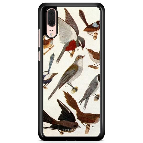 Bjornberry Skal Huawei P20 - Fåglar
