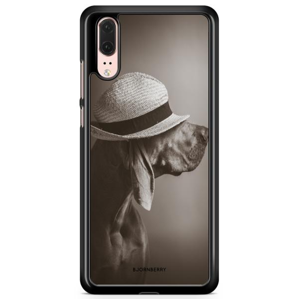 Bjornberry Skal Huawei P20 - Hund med Hatt