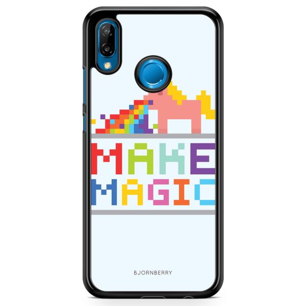 Bjornberry Skal Huawei P20 Lite - Enhörning Make Magic