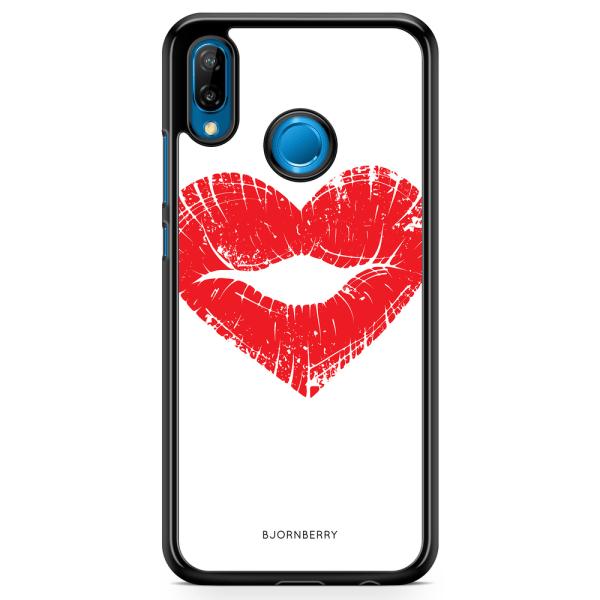 Bjornberry Skal Huawei P20 Lite - Hjärta Läppar