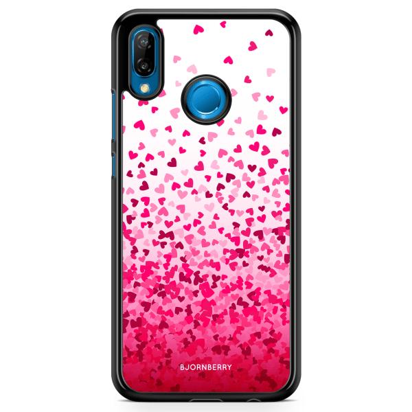 Bjornberry Skal Huawei P20 Lite - Hjärtkonfetti