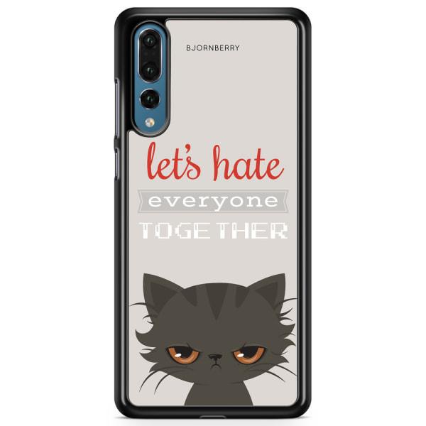 Bjornberry Skal Huawei P20 Pro - Arg katt