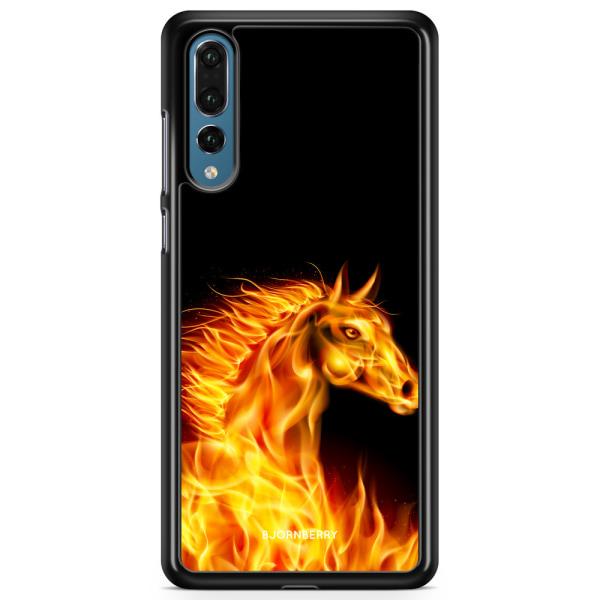 Bjornberry Skal Huawei P20 Pro - Flames Horse
