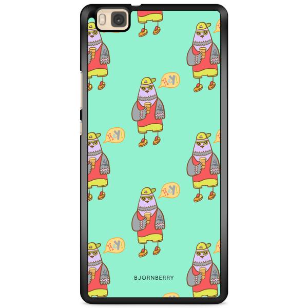 Bjornberry Skal Huawei P8 Lite - Cool Fågel