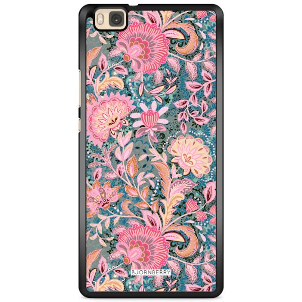 Bjornberry Skal Huawei P8 Lite - Fantasy Flowers