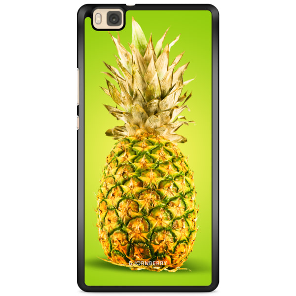 Bjornberry Skal Huawei P8 Lite - Grön Ananas