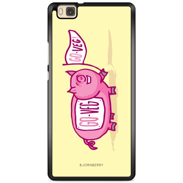 Bjornberry Skal Huawei P8 Lite - Rosa Gris