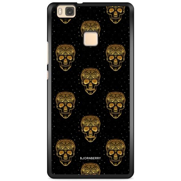 Bjornberry Skal Huawei P9 Lite - Gold Skulls