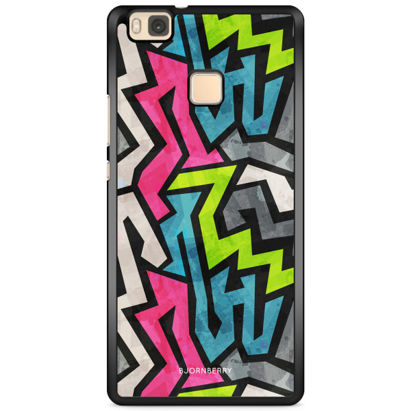 Bjornberry Skal Huawei P9 Lite - Grunge Graffiti