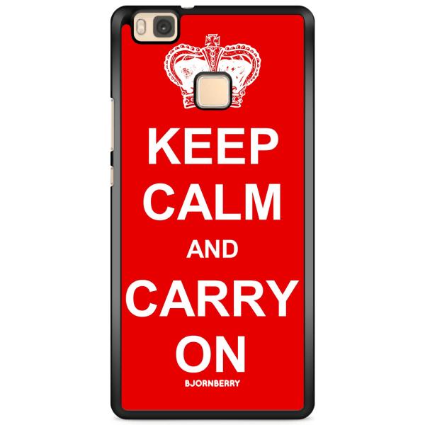 Bjornberry Skal Huawei P9 Lite - Keep calm carry on
