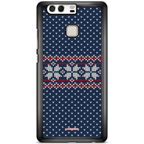 Bjornberry Skal Huawei P9 - Stickad Jul