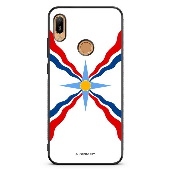 Bjornberry Skal Huawei Y6 2019 - Assyriska flaggan