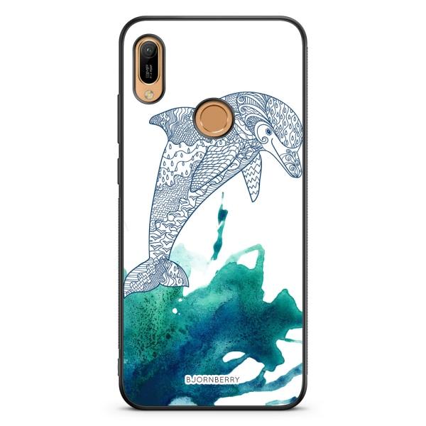 Bjornberry Skal Huawei Y6 2019 - Mandala Delfin