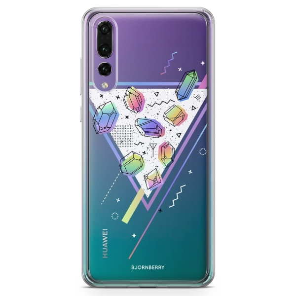 Bjornberry Skal Hybrid Huawei P20 Pro - Space Triangle