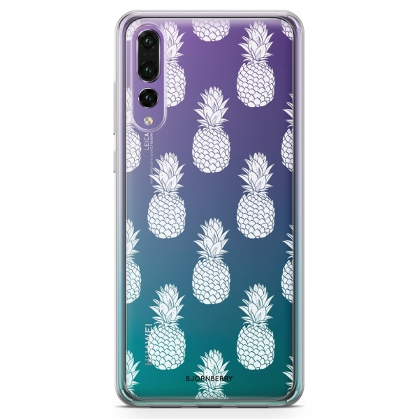 Bjornberry Skal Hybrid Huawei P20 Pro - Vita Ananas